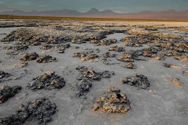 Salar De Atacama Photograph - Atacama Salt Lake Near San Pedro De by Christian Heeb