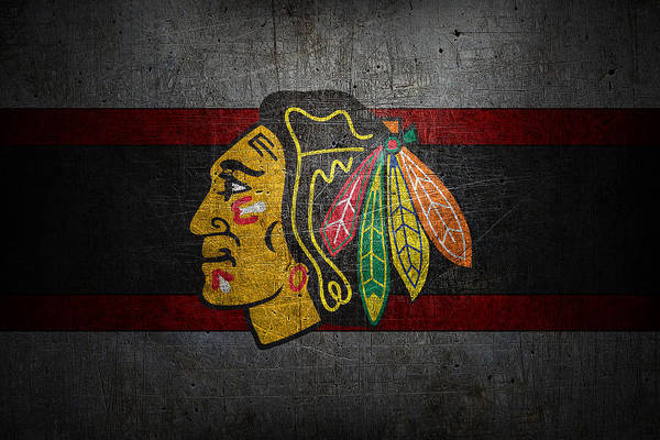 Wall Art - Photograph - Chicago Blackhawks by Joe Hamilton