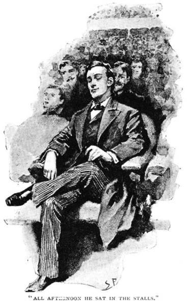 Wall Art - Drawing - Doyle Sherlock Holmes by Granger