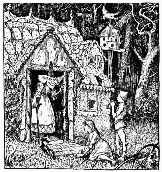 The Mystic Drawing - Grimm Hansel And Gretel by Granger