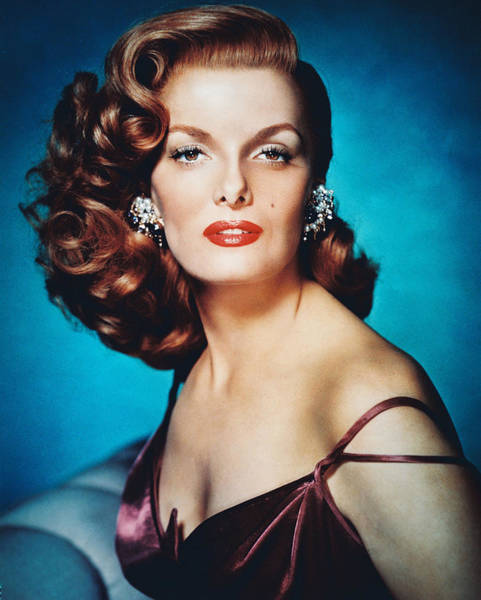 Glamorous Photograph - Jane Russell by Silver Screen