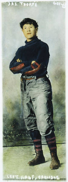 Photograph - Jim Thorpe (1888-1953) by Granger
