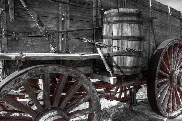 Photograph - 12-mule Team Wagon by David Andersen