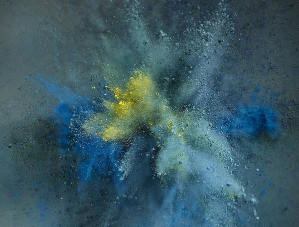 Powder Explosion Art Print by Sunny