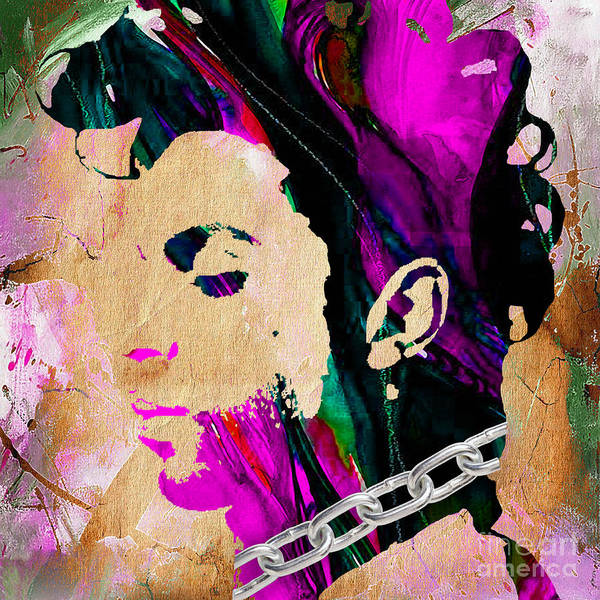 Wall Art - Mixed Media - Prince Collection by Marvin Blaine