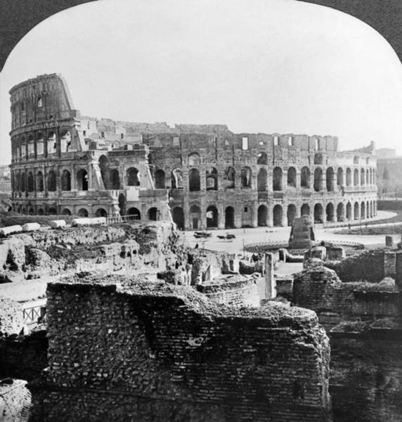 Painting - Rome Colosseum by Granger