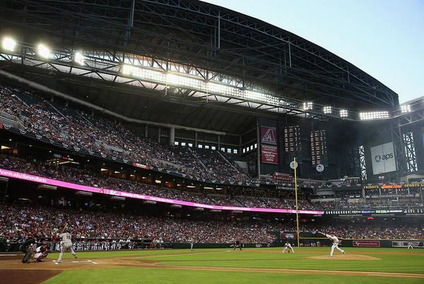 Baseball Pitcher Photograph - San Francisco Giants V Arizona by Christian Petersen