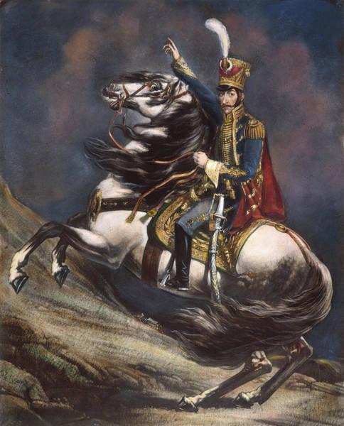 Painting - Simon Bolivar (1783-1830) by Granger