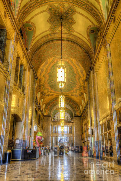 Fisher Center Photograph - The Fisher Building by Twenty Two North Photography