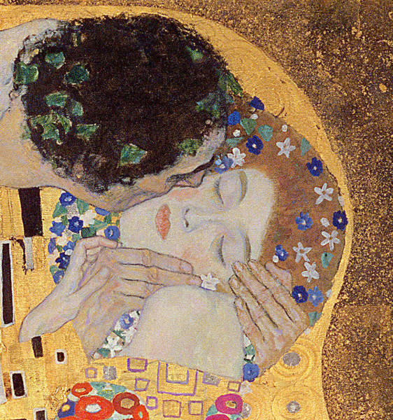 Painting - The Kiss by Celestial Images