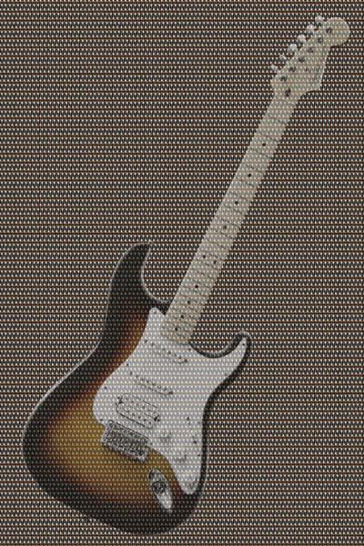 Wall Art - Photograph - 12 Thousand Electric Guitars by Mike McGlothlen
