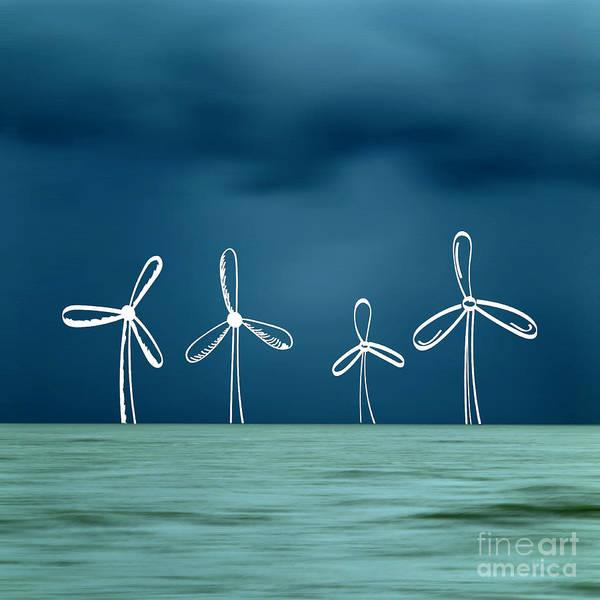 Wall Art - Photograph - Wind Turbine by Bernard Jaubert