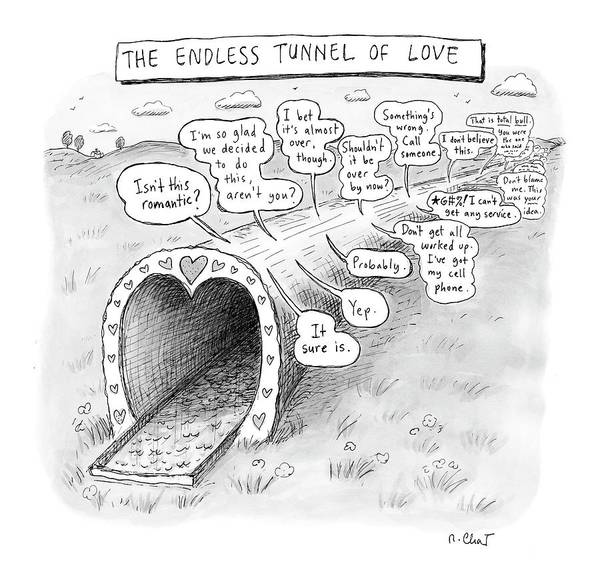Endless Wall Art - Drawing - New Yorker March 31st, 2008 by Roz Chast