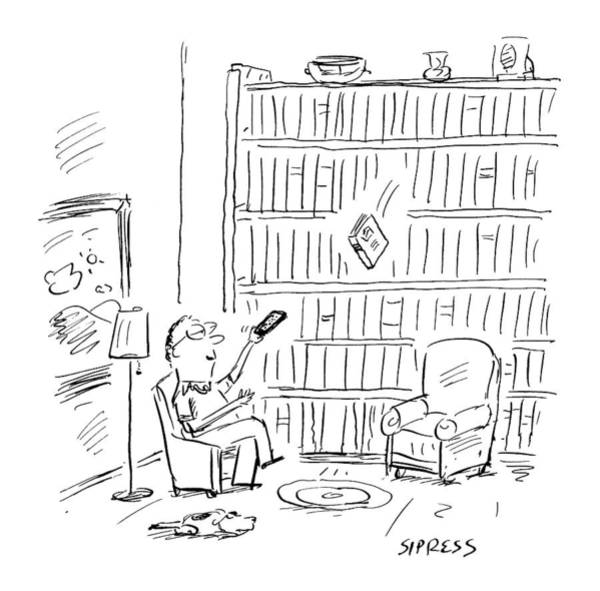 2000 Drawing - New Yorker July 3rd, 2000 by David Sipress