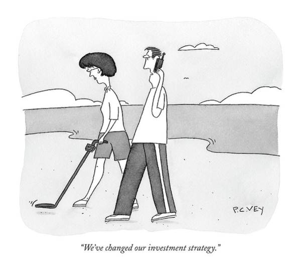 Strategy Drawing - We've Changed Our Investment Strategy by Peter C. Vey