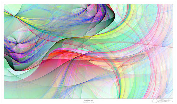 Wall Art - Digital Art - 1272 by Lar Matre