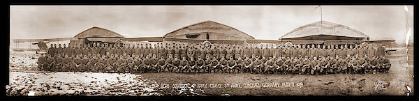 Army Air Corps Photograph - 12th Aero Squadron Coblenz Germany by Fred Schutz Collection