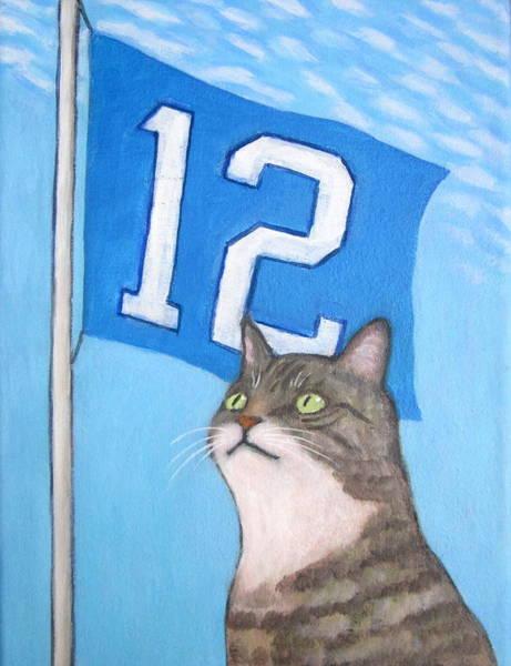 Painting - 12th Cat #1 by Kazumi Whitemoon