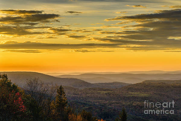 Highland Scenic Highway Wall Art - Photograph - Allegheny Mountain Sunrise #13 by Thomas R Fletcher