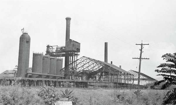Roanoke Wall Art - Photograph - Blast Furnace by Hagley Museum And Archive