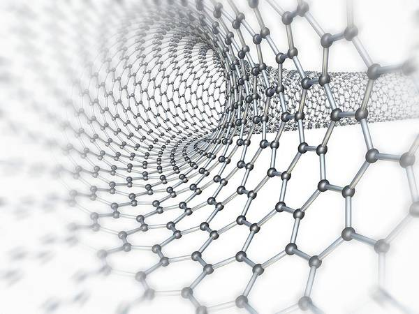 Wall Art - Photograph - Carbon Nanotube by Pasieka