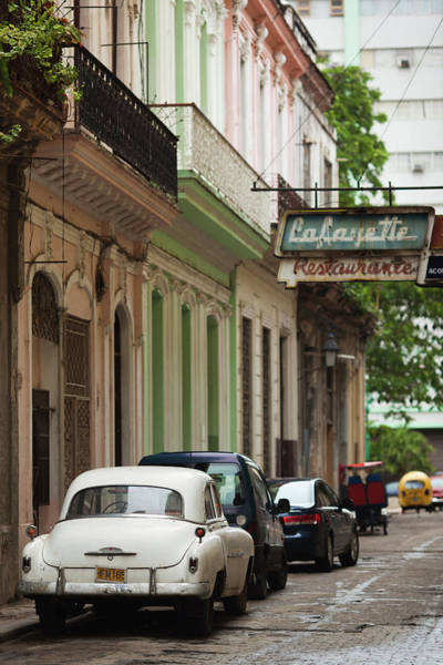 Wall Art - Photograph - Cuba, Havana, Havana Vieja, Morning by Walter Bibikow