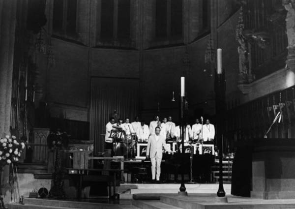Grace Cathedral Photograph - Duke Ellington (1899-1974) by Granger