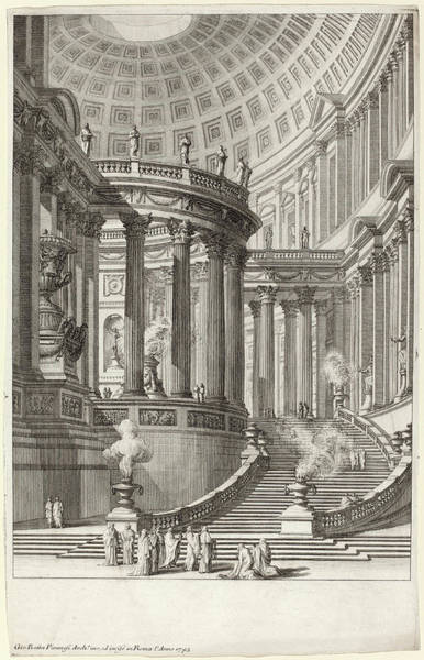 Wall Art - Drawing - Giovanni Battista Piranesi Italian, 1720 - 1778 by Quint Lox