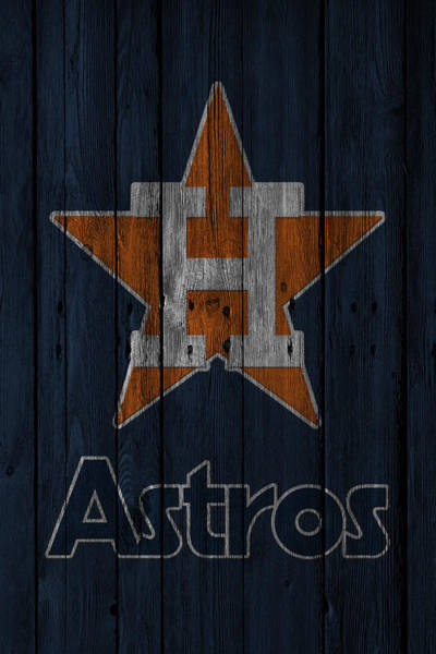 Outfield Wall Art - Photograph - Houston Astros by Joe Hamilton