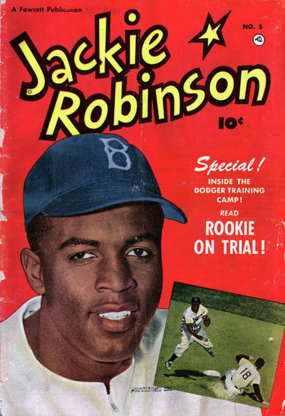 Wall Art - Painting - Jackie Robinson (1919-1972) by Granger