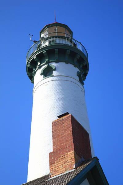 Photograph - Lighthouse - Presque Isle Michigan 7 by Frank Romeo