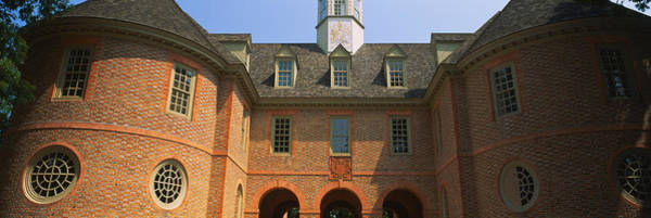 Colonial Williamsburg Photograph - Low Angle View Of A Government by Panoramic Images