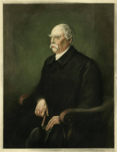 Wall Art - Drawing - Otto Eduard Leopold by Mary Evans Picture Library