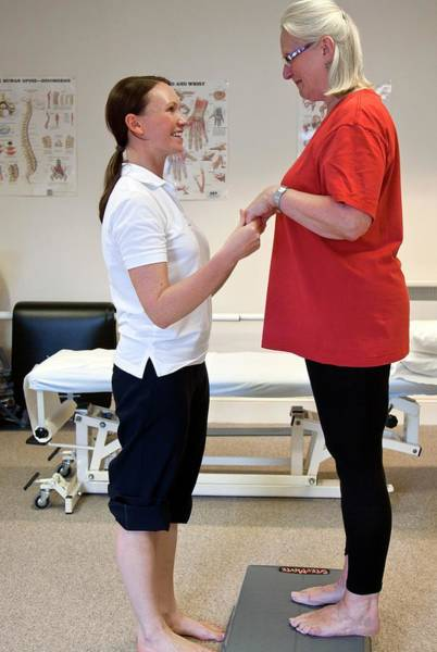 Wall Art - Photograph - Physiotherapy by Life In View/science Photo Library