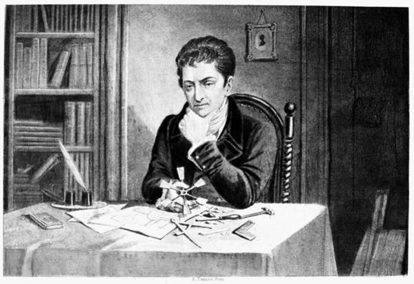 Inkwell Painting - Robert Fulton (1765-1815) by Granger