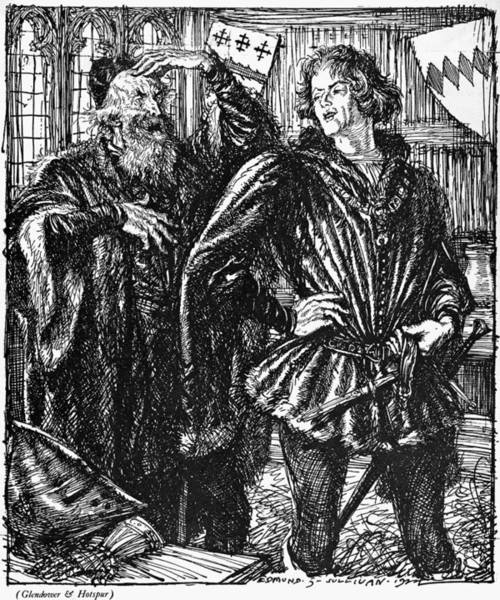1924 Drawing - Shakespeare Henry Iv by Granger