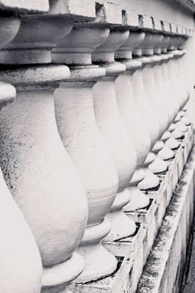 Banister Wall Art - Photograph - Stone Wall by Tom Gowanlock