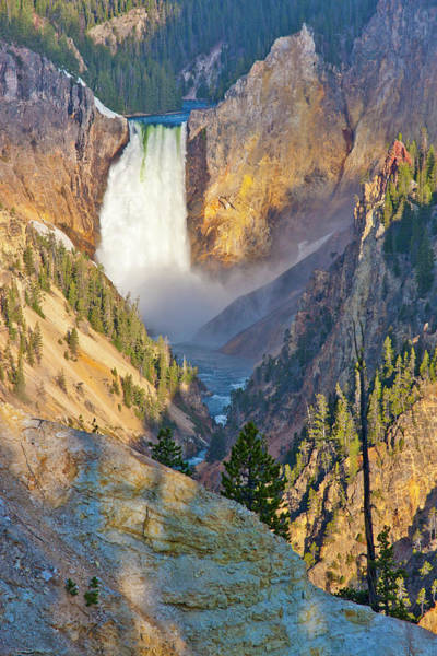 Yellowstone Canyon Photograph - Wyoming, Yellowstone National Park by Elizabeth Boehm