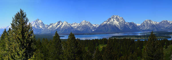 Photograph - Jackson Lake by Walt Sterneman