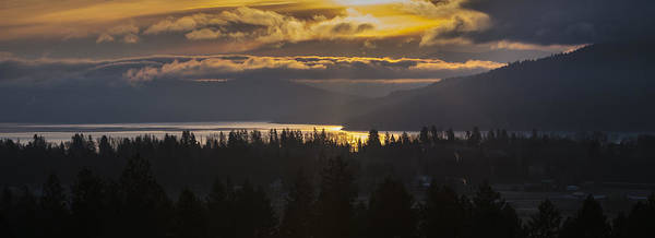 Photograph - 131127a-18 Sandpoint Winter Sunrise by Albert Seger