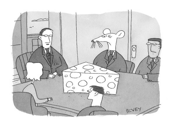 Cheese Drawing - Caption Contest Tk by Peter C. Vey