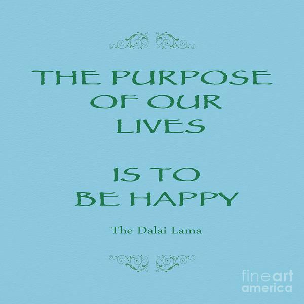 Quote Photograph - 138- The Dalai Lama by Joseph Keane