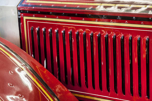 Photograph - 1915 Lafrance Fire Engine by Rich Franco