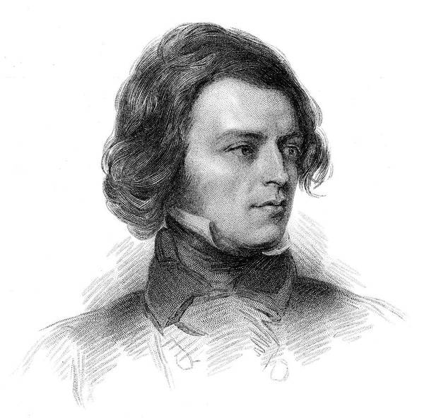 Wall Art - Drawing - Alfred Tennyson (1809 - 1892) by Mary Evans Picture Library