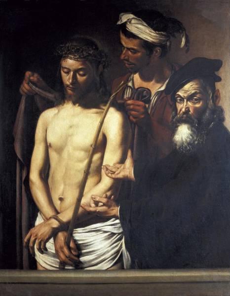 Pontius Pilate Wall Art - Photograph - Caravaggio, Michelangelo Merisi Da by Everett