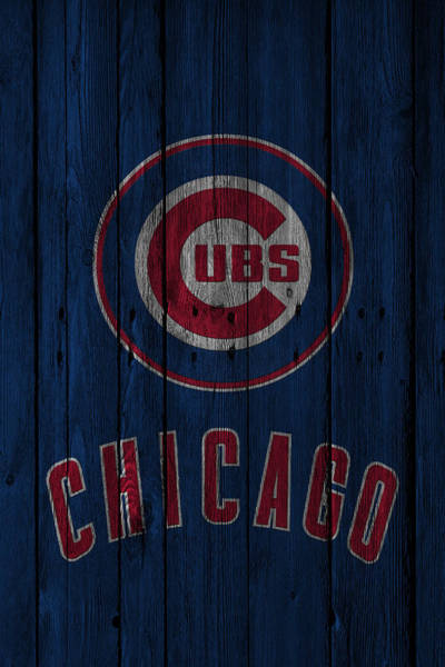 Baseballs Photograph - Chicago Cubs by Joe Hamilton