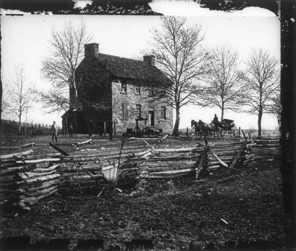 Wall Art - Photograph - Civil War Bull Run, 1861 by Granger