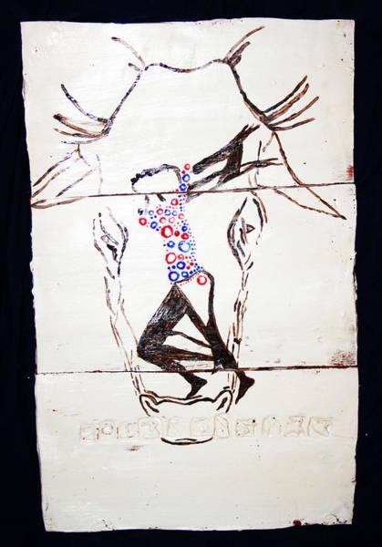 Ceramic Art - Dinka Dance - South Sudan by Gloria Ssali