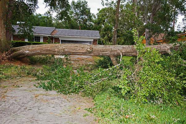 Wall Art - Photograph - Hurricane Irma Residential Storm Damage by Millard H. Sharp