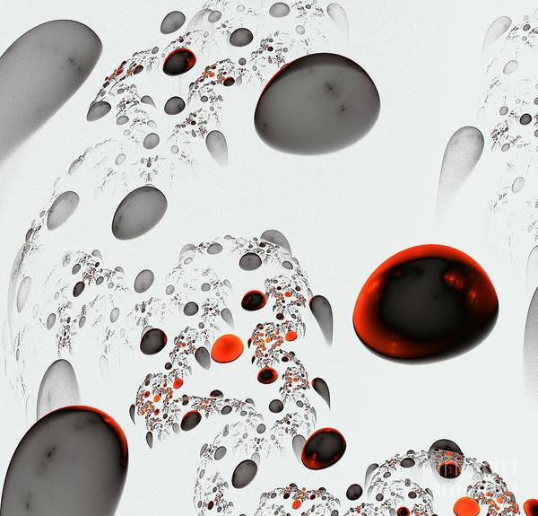 Detonation Digital Art - Interesting Figures by Odon Czintos